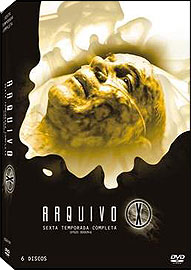ARQUIVO X - 6ª TEMPORADA - (BOX C 6 DVDs)